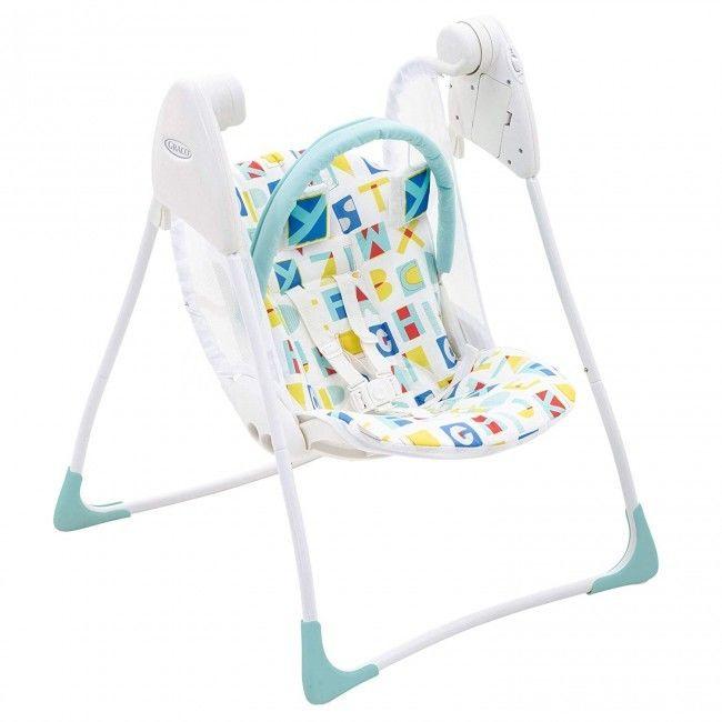 Huśtawka Graco Baby Delight - Block Alphabet