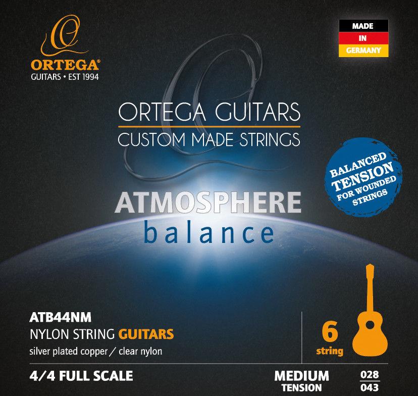 Ortega ATB44NM - struny do gitary klasycznej
