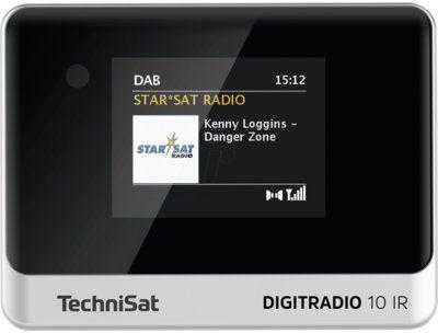 Radio internetowe TECHNISAT Digitradio 10 IR Czarno-srebrny Dogodne raty! DARMOWY TRANSPORT!