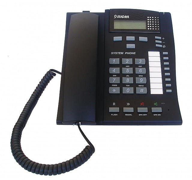 Slican CTS-102.CL-BK - telefon systemowy - czarny
