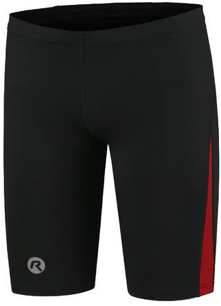 ROGELLI RUN DIXON - męskie spodenki sportowe, czarno-czerwone Rozmiar: XL,dixon-red