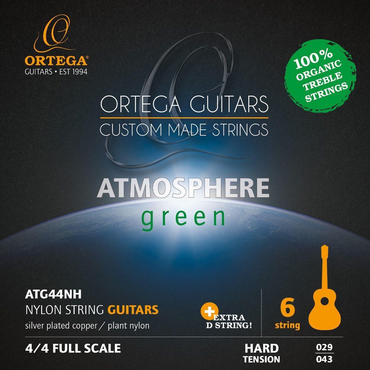 Ortega ATG44NH - struny do gitary klasycznej