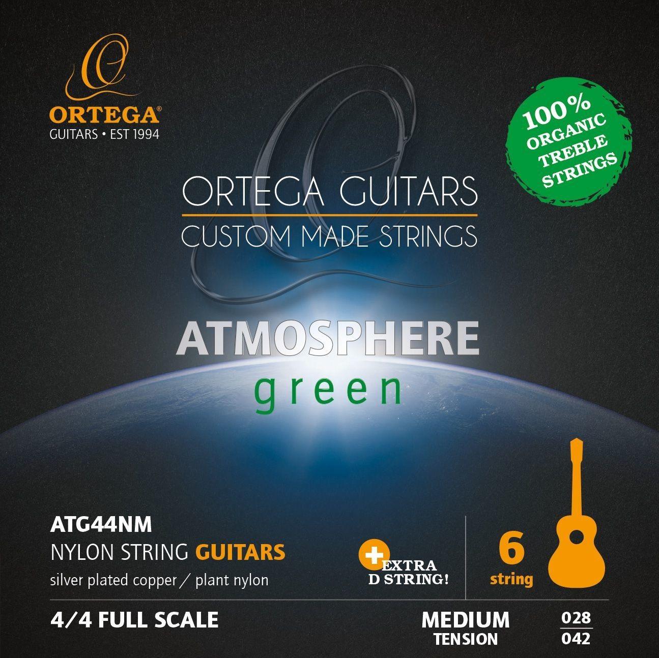 Ortega ATG44NM - struny do gitary klasycznej