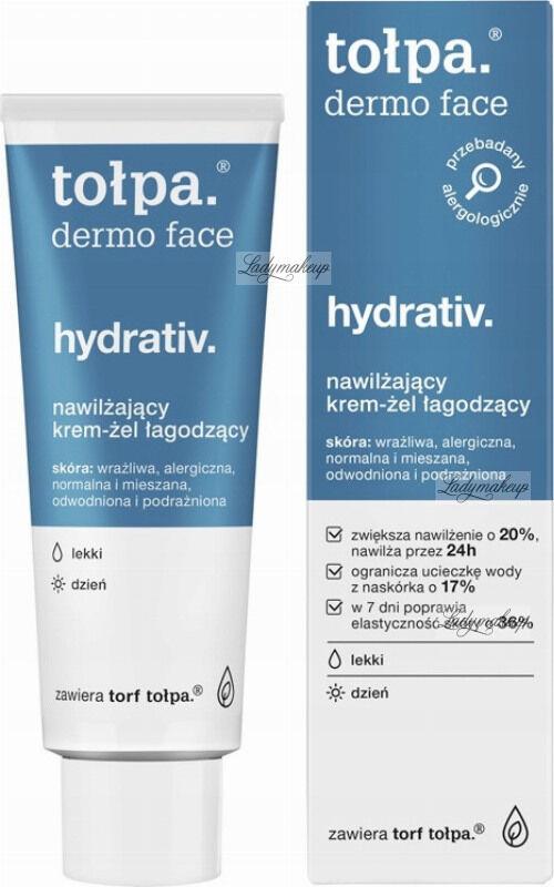 Tołpa - Dermo Face Hydrativ - Nawilżający krem żel łagodzący - Dzień - 40 ml