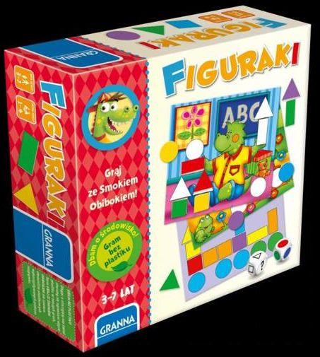 Gry i zabawy Smoka Obiboka - Figuraki GRANNA