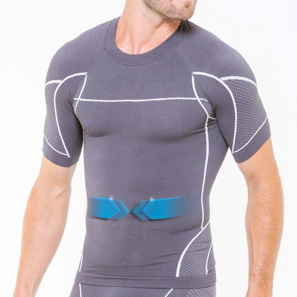 Cellutex męska koszulka Cyclista Minceur, szara, FR Unique (talia tkanina: L/XL)