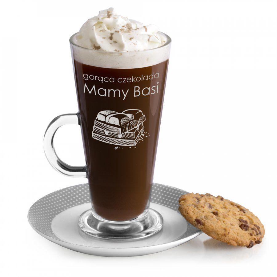 Szklanka do latte z grawerem dla mamy