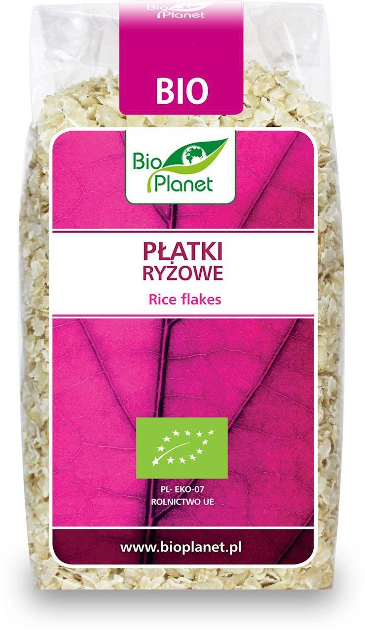 Płatki ryżowe bio 300 g - bio planet