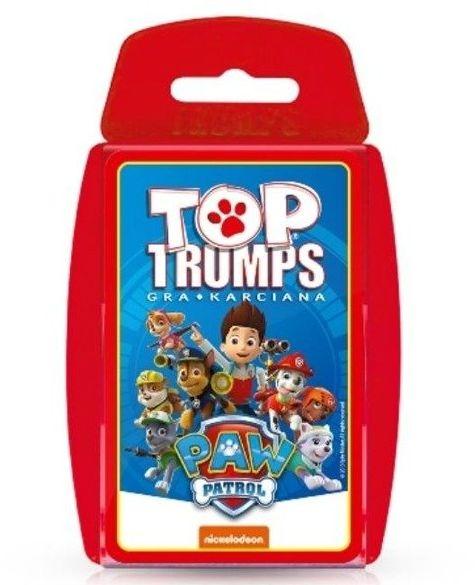 Psi Patrol Top Trumps Gra karciana - Winning Moves