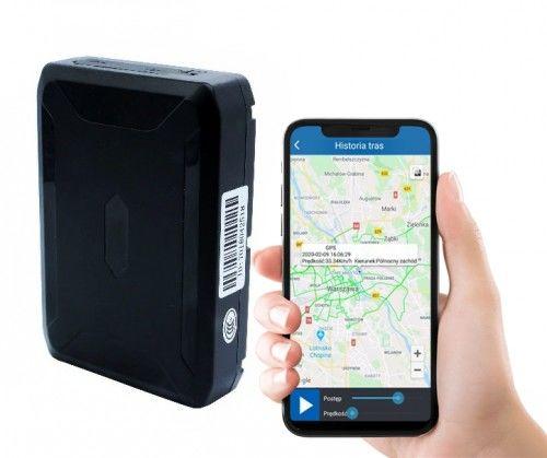 Lokalizator GPS HADES do 120 Dni hermetycznie silny magnes (j. Polski)