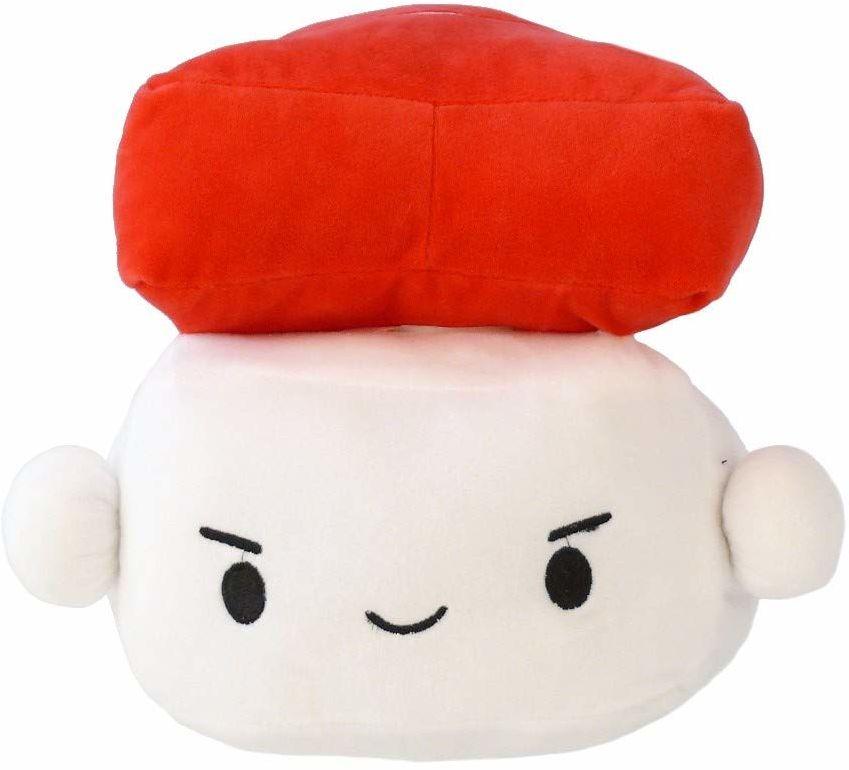 Geekinvader japońska poduszka do sushi poduszka przytulanka poduszka dekoracyjna Smiley poduszka jednorożec Nego Nego Neko kot Kawaii Egg Shrimp w dwóch rozmiarach (20231-9002-000)