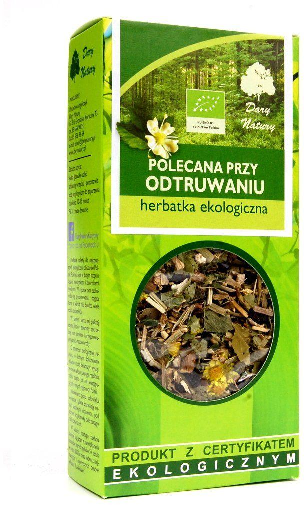 Herbata Polecana przy Odtruwaniu EKO 50 g Zioła Dary Natury
