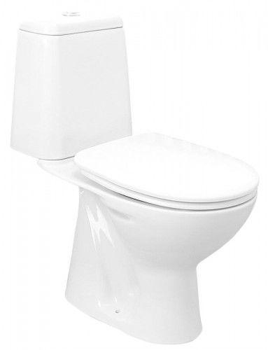 WC kompakt, dolny odpływ, mechanizm spłukujący