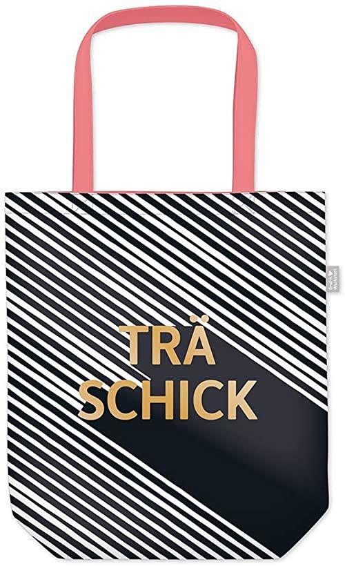 Grafik Werkstatt torba na zakupy z zabawnym napisem, składana torba na zakupy lekka torba, czarny i biały (czarny) - 62019