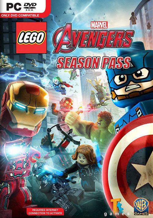 LEGO Marvel Avengers Season Pass (PC) klucz Steam