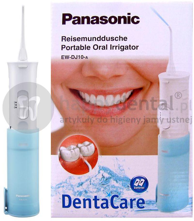 Irygator do zębów turystyczny PANASONIC DJ10 zasilany bateryjnie