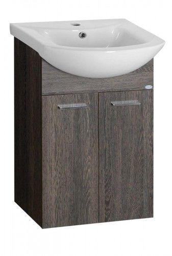 ZOJA szafka umywalkowa 42x74x25cm, WENGE MALI