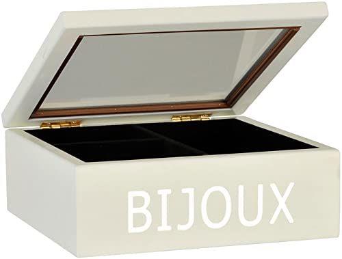 Emde 868BBTE 0 szkatułka na biżuterię, chromowana/biała