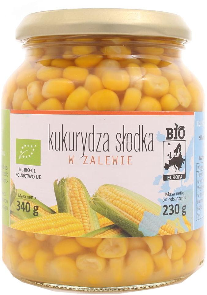 Kukurydza słodka w zalewie BIO - Baltussen - 230g