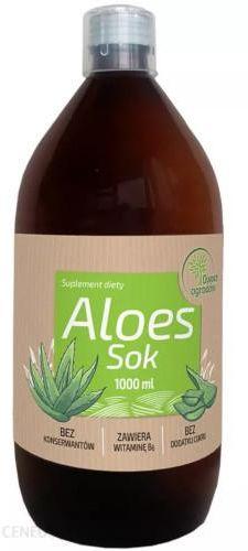 Owoce Ogrodów Aloes sok 1000 ml