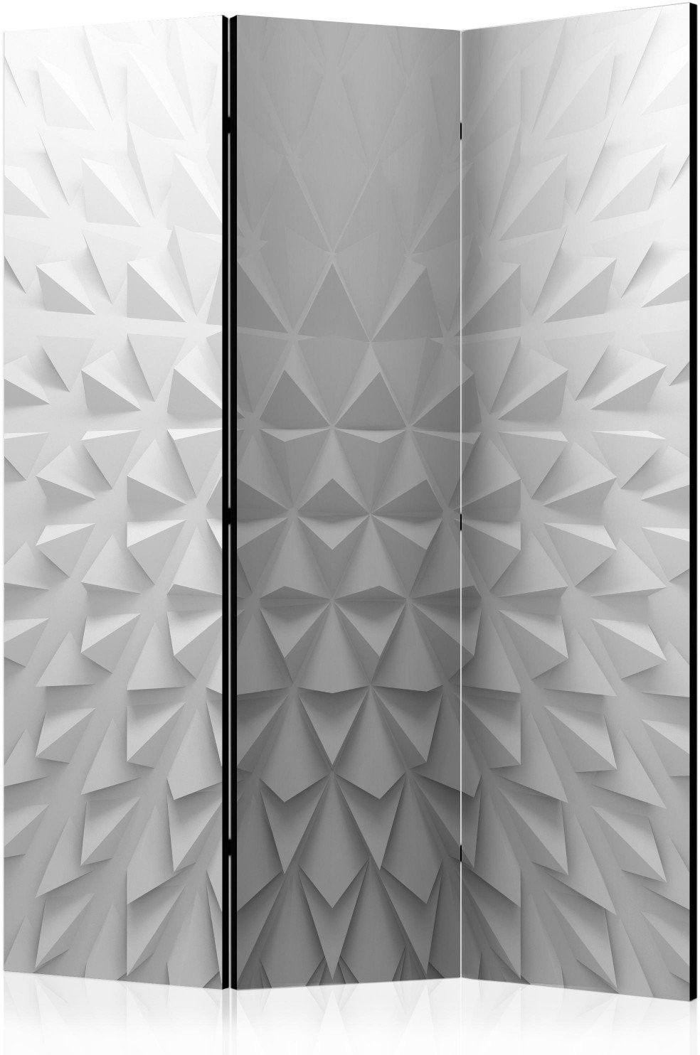 Parawan 3-częściowy - czworościany [room dividers]