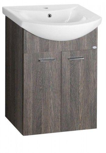 ZOJA szafka umywalkowa 61,5x74x32,5cm, WENGE MALI