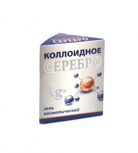 Srebro koloidalne żel kosmetyczny 25 ml