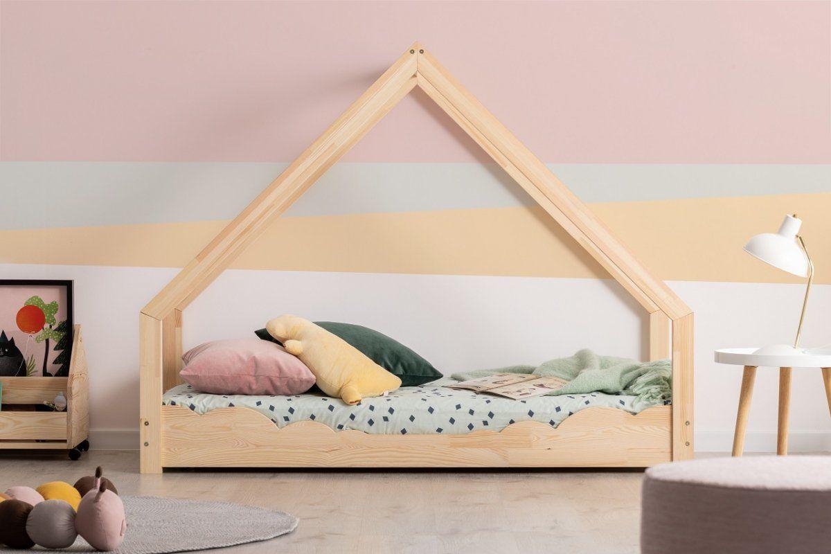 Łóżko dziecięce LOCA D 80x140 sosna