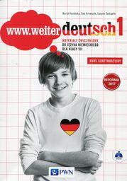 www.weiter deutsch 1. Materiały ćwiczeniowe do języka niemieckiego dla klasy VII ZAKŁADKA DO KSIĄŻEK GRATIS DO KAŻDEGO ZAMÓWIENIA