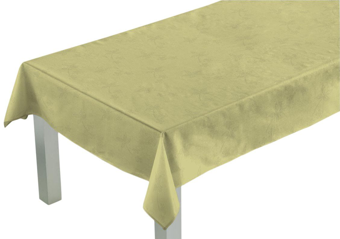 Comptoir du Linge csi03003 obrus kwadratowy tkanina/poliester/bawełna/sznurek teflonowy 140 x 140 x 0,5 cm