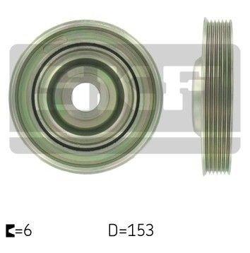 koło pasowe wału korbowego - 2.0 TDCI - SKF vkm93310