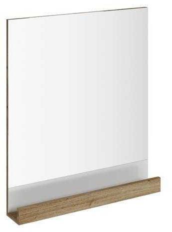 RAVAK 10 (stopni) lustro z półką 650 ciemny orzech X000000853