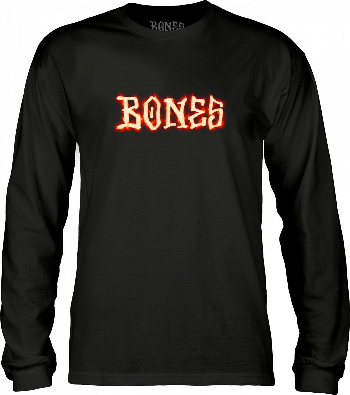 t-shirt męski BONES BLAZER LS Black