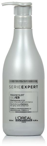 Loreal Expert Silver Szampon do włosów rozjaśnionych lub siwych 500 ml