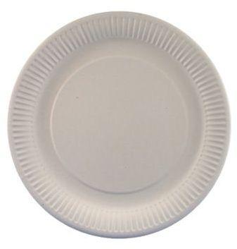 Naczynia jednorazowe i sztućce talerze papierowe