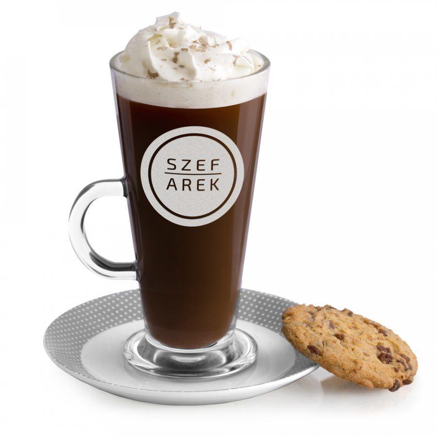 Szklanka do latte z grawerem dla szefa