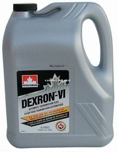Olej do automatycznych skrzyń biegów DEXTRON ATF VI 4l