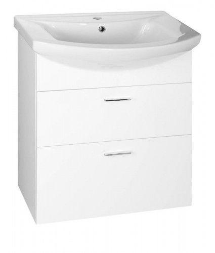ZOJA szafka umywalkowa 61,5x74x32,5 cm, biała