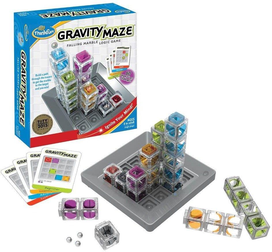 ThinkFun gra logiczna Gravity Maze labirynt grawitacyjny 764075