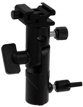 Fotodiox Elite Flash Umbrella Bracket-with Swivel/Tilt Head, Mountable to Light Stand and Tripod-Fits Pentax AF 540FGZ, AF 500FTZ AF 360 FGZ, AF-200FG