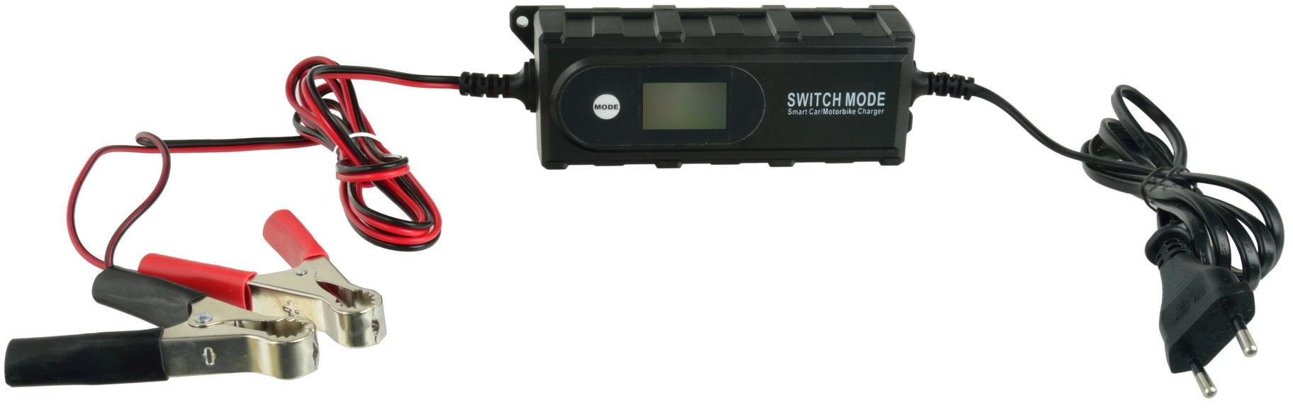 Prostownik (ładowarka) do akumulatorów GEL i AGM 6/12V (G80009)
