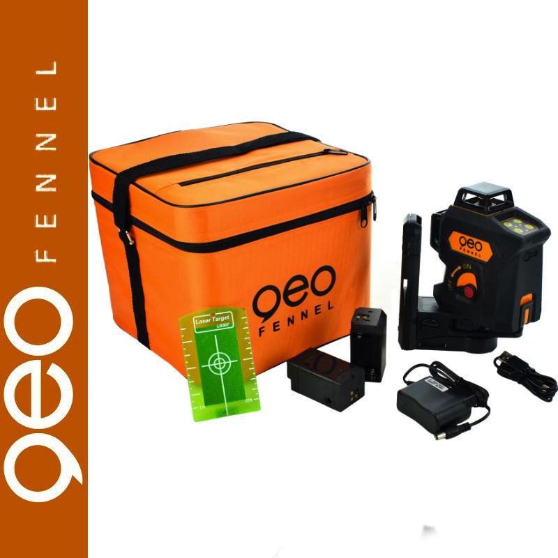 Laser płaszczyznowy 360  zielony Geo6X geoFENNEL