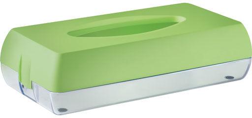 Pojemnik na chusteczki higieniczne Marplast plastik zielony