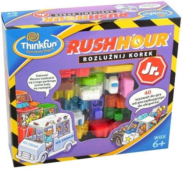 ThinkFun gra logiczna Godziny szczytu Rush Hour Junior 764099