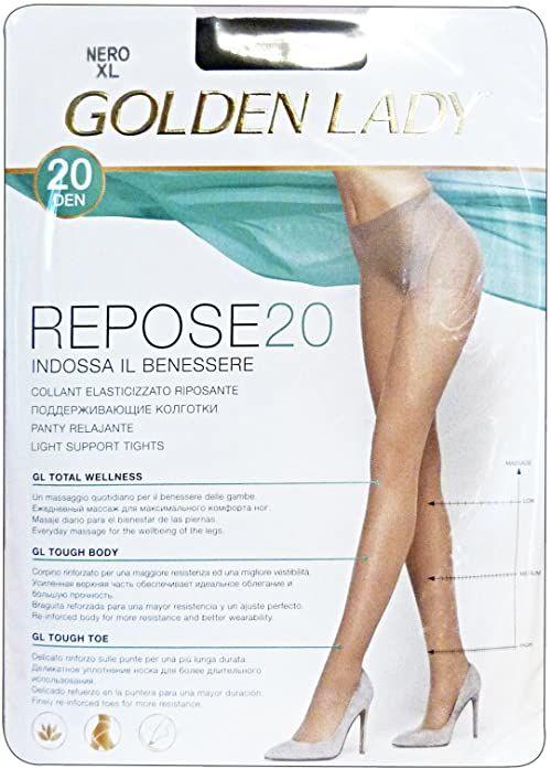 Golden Lady Golden Lady Repose Golden Lady Repose rajstopy 20 Den brąz brąz brąz rozmiar 36-300 g