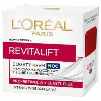 LOréal Paris Revitalift ujędrniająco - przeciwzmarszczkowy krem na noc do wszystkich rodzajów skóry 50 ml