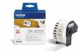 Brother DK-22225 biała etykieta papierowa, ciągła 38 mm x 30,48 m, oryginalna