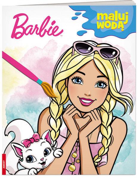 Barbie Maluj wodą ZAKŁADKA DO KSIĄŻEK GRATIS DO KAŻDEGO ZAMÓWIENIA