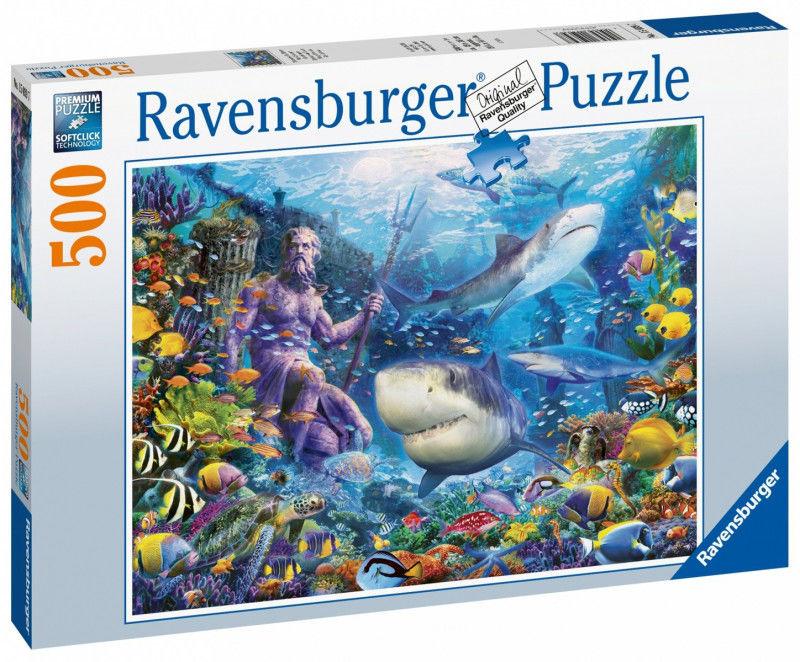 Ravensburger - Puzzle Władca mórz 500 el. 150397