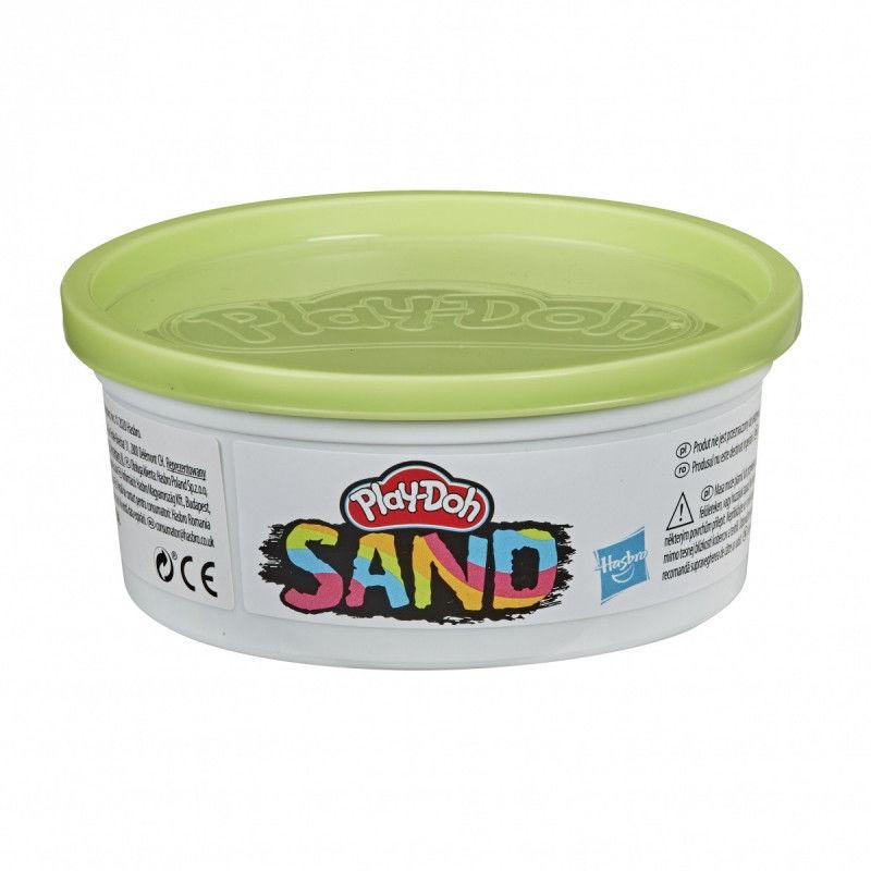 Piasek kinetyczny PlayDoh Sand Tuba pojedy Chartreuse